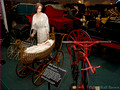 1869 Dexter Velocipede and 1875 Baby Buggy