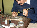making high-quality reproductions of traditional Mapuche jewelry